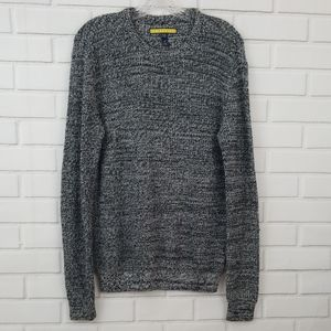 Prince & Fox Cable Knit Crewneck Pullover Sweater